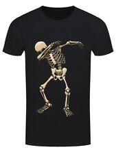 Squelette DAB Halloween Homme T-Shirt Noir