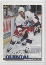 1995-96 Upper Deck Collector's Choice #280 Stephane Quintal Winnipeg Jets Card