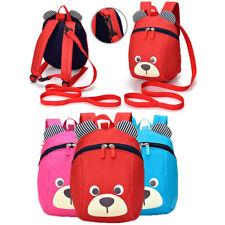 Cute Child Kids Bear Cartoon Backpack Schoolbag Shoulder Bag Casual Strap Bag US