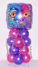 Brillo y brillo-Foil Balloon Decoración De Mesa Pantalla-Nickelodeon Jr