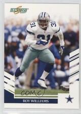 2007 Score Glossy #10 Roy Williams Dallas Cowboys Football Card