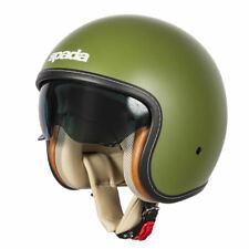 Casque de moto Spada raser Matt Green