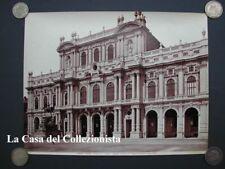 TORINO. Piazza Carlo Alberto. Grande foto fine 1800