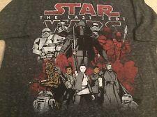 STAR WARS The LAST Jedi movie KYLO REN Stormtrooper CHEWBACCA MEN'S New T-Shirt
