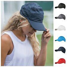 Baseball Cap Sun Hat Sport Cool Ultra Light Polyester Low Profile Mens Womens