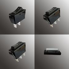 Wippschalter 11x30 eckig schwarz  I/0 und I/O/II Snap In 230V oder 12V EIN AUS