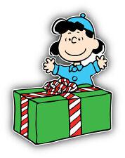 Peanuts Cartoon Christmas Sticker Bumper Decal - ''SIZES''