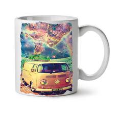 Ganja Bus Camping NEW White Tea Coffee Mug 11 oz   Wellcoda
