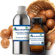 PURE MACADAMIA CARRIER OIL Macadamia ternifolia NATURAL HERBAL AROMA