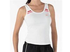 SERGIO Tacchini Bianco Rosa Tennis Sport Fitness canotta t shirt top x grandi XL 16