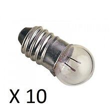 LAMPADINE MES 11mm DIAM 1.5v a 12.0v confezioni da 10 m.e.S. (e10) MODELLISMO elettronicamente
