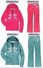 NWT XS ,S, M, XL AEROPOSTALE HOODIE SWEATSHIRT OR SWEAT PANTS PINK,GREEN CHOOSE