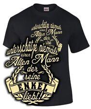 Opa T-Shirt ALTER MANN DER SEINE ENKEL LIEBT Spruch lustig Enkelin Enkelkinder