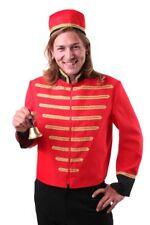 Diener Bell Boy Hotel Portier Kostüm Anzug Hotelpage Verkleidung Herrenoberteil