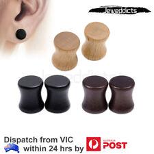 2-6 PCS Ear Plug Stretcher Organic Wood Flared Tunnel Piercing Punk Jewellery