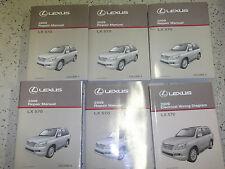 2009 Lexus LX570 LX 570 Service Shop Repair Manual SET FACTORY DEALERSHIP W EWD
