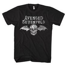 Avenged Sevenfold Death Bat Logo Heavy Metal Official Tee T-Shirt Mens Unisex