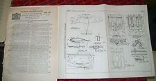 AIRCRAFT BLIND FLYING  INDICATING INSTRUMENT PATENT. UPSON,MICHIGAN, USA. 1933
