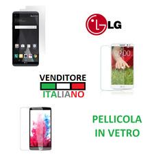PELLICOLA in VETRO TEMPERATO per LG G PRO 2/ STYLO 2/ L30 film glass cover LCD