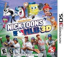 Nicktoons MLB 3D Baseball (Nintendo 3DS) XL 2DS Game