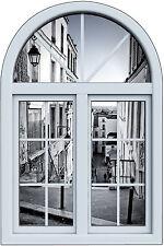 Stickers fenêtre trompe l'oeil Paris réf 6255