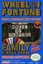 WHEEL OF FORTUNE FAMILY EDITION CLASSIC ORIGINAL GAME NINTENDO NES HQ