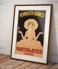 🍷 Poster Dudovich Vermouth Martini e Rossi Stampa Fine Art fino a 140 x 100 cm