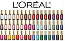 Loreal Colour riche nail polish Various Shades