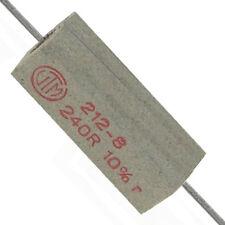Hochlast Drahtwiderstand Vitrohm 212-8 240 Ω 7W 10 % Neuware ohne RoHS