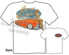 1953 Chevy T-shirt, Chevrolet T Shirt Pin up Custom Car Tee, Sz M