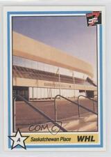 1990-91 7th Inning Sketch WHL #93 Saskatchewan Place Saskatoon Blades (WHL) Card