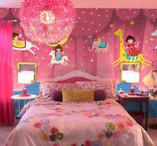 3D Pink horse trail 1D WallPaper Murals Wall Print Decal Wall Deco AJ WALLPAPER