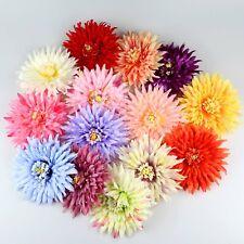 14cm Artificial Rose/Peony/Chrysanthemu Heads Daisy Silk Big Fake Flower heads