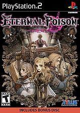 Eternal Poison (Sony PlayStation 2, 2008) SEALED