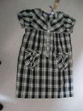 Damen Blusen Karo Größe 32 grün schwarz weiss blau Baumwolle langarm Mode NEU