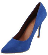 Bonnibel Women's Mabyn-1 Faux Suede Pointy toe High Heel Dress Pumps