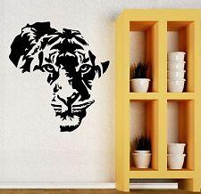 Wall Decal Tiger Animal Tribal Decor Living Kids Room Vinyl Art Mural (ig2711)