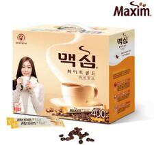 Korean Instant Coffee Mix Maxim White Gold 20/ 50/ 100/ 210/ 400 Sticks