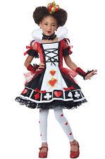 Brand New Deluxe Queen of Hearts Alice in Wonderland Child Costume