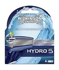 Wilkinson Sword Pack Of 4 Hydro 5 Refill Razor Blades Shaving Razor Replacement