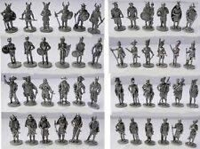 U-ei Soldatini kinder metallfiguren Serie 35mm ferro eisen  varie tipologie