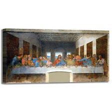 da Vinci ultima cena design quadro stampa tela dipinto telaio arredo casa