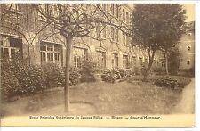 CP 02 AISNE - HIRSON ECOLE PRIMAIRE SUPERIEURE DE JEUNES FILLES COUR D'HONNEUR