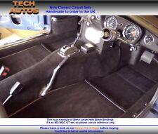 MERCEDES PAGODA SL W113 fatti a mano su ordinazione auto Velluto Tappeto Set