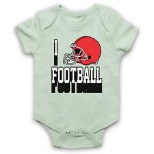 Me encanta Fútbol Americano NFL Casco Cool Sports bebé crezca Ducha Regalo de amante