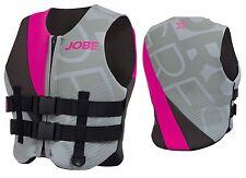 Jobe Progress Stretch Vest Women - Grau/Pink Schwimmweste Wakeboard Kite SUP j16