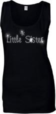 petite soeur cristal femmes gilet - Strass Tout Sizes 6 -18