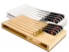 Wüsthof Schubladeneinsatz Messerblock für 7 Teile Buche / Kunststoff