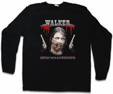 DEAD TEXAS RANGER LONG SLEEVE T-SHIRT Daryl Dixon The Walking Chuck Norris Dead