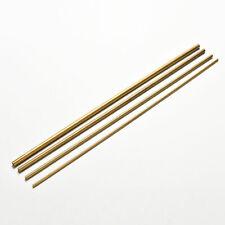 Messingrohr 2mm, 3mm, 4mm, 5mm, 6mm, 7mm 300mm lang 0.5mm wand CJ